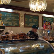 Counter at Ess-A-Bagel in New York. Photo by alphacityguides.