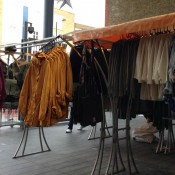 Overstock and vintage at Old Spitalfields Market in London. Photo by alphacityguides.