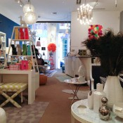 Interior display inside Jonathan Adler New York. Photo by alphacityguides.