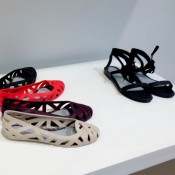 Jason Wu shoes at Melissa in London. Photo by alphacityguides.