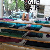 Inside Pleats Please in Paris. Photo by alphacityguides.