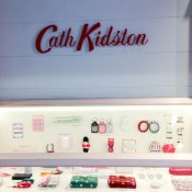 Fashion display at Cath Kidston in Covent Garden, London. Photo by alphacityguides.