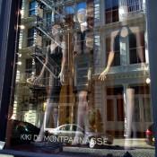 Window at Kiki de Montparnasse in New York. Photo by alphacityguides.