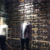 Men's fashion at AllSaints in New York. Photo by alphacityguides.