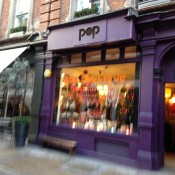 Storefront at Pop Boutique in London. Photo by alphacityguides.