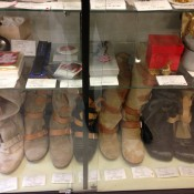 Boots and accessories at Vivienne Westwood Closet Child in Tokyo. Photo by alphacityguides.