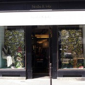 Store front at Bimba & Lola in Paris. Photo by alphacityguides.