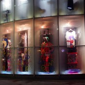Store front at Galaxxxy in Tokyo. Photo by alphacityguides.