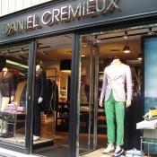 Store front at Daniel Cremieux in Paris. Photo by alphacityguides.