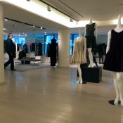 Womenswear fashion display at Barney's in New York. Photo by alphacityguides.