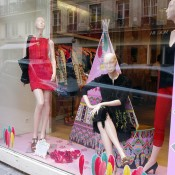 Fashion display at Manoush in Paris. Photo by alphacityguides.