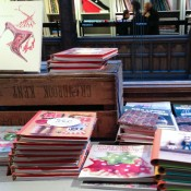 Fashion books at Liberty London. Photo by alphacityguides.