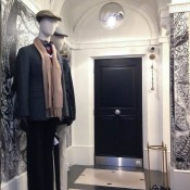 Fashion display at Hackett in Covent Garden, London. Photo by alphacityguides.