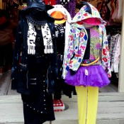 Decora fashion seen at a Japanese street fashion store in Toko