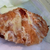 Ham and cheese croissant at Bouchon Bakery in New York. Photo by alphacityguides.