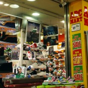 Store front at ABC Mart in Tokyo. Photo by alphacityguides.