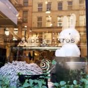 Window display at Cristina Dos Santos in New York. Photo by alphacityguides.
