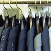 Bespoke suits at Huntsman in London. Photo supplied by Huntsman.