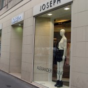 Store front at Joseph in Paris. Photo by alphacityguides.