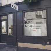 A.P.C. store in Paris. Photo by alphacityguides.