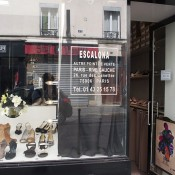 Store front at Escalona in Paris. Photo by alphacityguides.