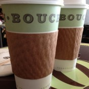 Coffee at Bouchon Bakery in New York. Photo by alphacityguides.