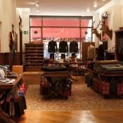 Inside the Huntsman store in London. Photo supplied by Huntsman.