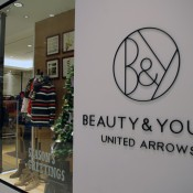 United Arrows store at The One Mall in Hong Kong. Photo by alphacityguides.