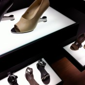 Eamz Ankle Strap shoes at United Nude in New York. Photo by alphacityguides.