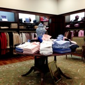 Womenswear at Brooks Brothers in London. Photo by alphacityguides.