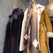 Womanswear outerwear at Initial in Hong Kong. Photo by alphacityguides.