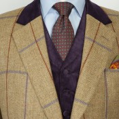 Bespoke Jacket from Huntsman in London. Photo supplied by Huntsman.