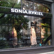 Store front at Sonya Rykiel in Paris. Photo by alphacityguides.