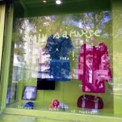 Window display inside Juju s'amuse! in New York. Photo by alphacityguides.