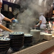 Open kitchen at Muginbo in Tokyo. Photo by alphacityguides.