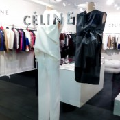 Céline fashion display at Harvey Nichols in London. Photo by alphacityguides.