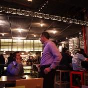Inside Shake Shack in New York. Photo by alphacityguides.