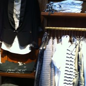 Fashion inside at Scotch & Soda in New York. Photo by alphacityguides.