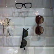 Glasses display at Different Character in Paris. Photo by alphacityguides.