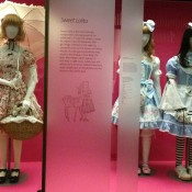 Japanese fashion exhibit at the V & A Museum in London. Photo by alphacityguides.