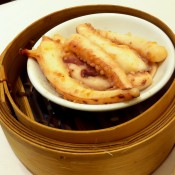 Fried octopus at Crystal Jade in Hong Kong. Photo by alphacityguides.