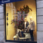 Store front at Façonnable in Paris. Photo by alphacityguides.