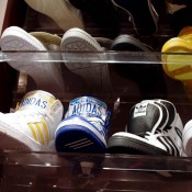 Jeremy Scott Adidas at Kicks Lab in Tokyo. Photo by alphacityguides.