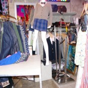 Fashion display at Spinns Harajuku Tokyo.