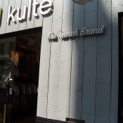 Store front at Kulte in Paris. Photo by alphacityguides.