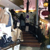 Shops on Takeshita St in Tokyo. Photo by alphacityguides.