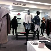 Helmut Lang fashion display at Harvey Nichols in London. Photo by alphacityguides.