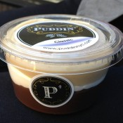 Chocolate butterscotch pudding from Puddin' New York. Photo by alphacityguides.