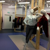 Fashion display at Opening Ceremony in London. Photo by alphacityguides.