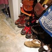 Vintage shoes at Spinns Harajuku Tokyo